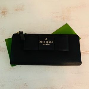 Kate Spade large Wallet with bow